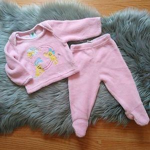 GAGOU TAGOU Baby girl matching set